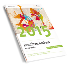 Cover Eventbranchenbuch memo-media 2015