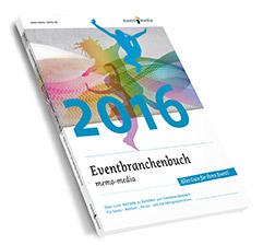memo-media Cover Eventbranchenbuch 2016