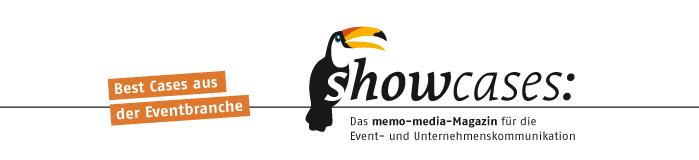 showcases - das memo-media-Magazin f�r die Event- und Unternehmenskommunikation